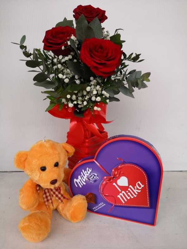 Buket 3 ruže
